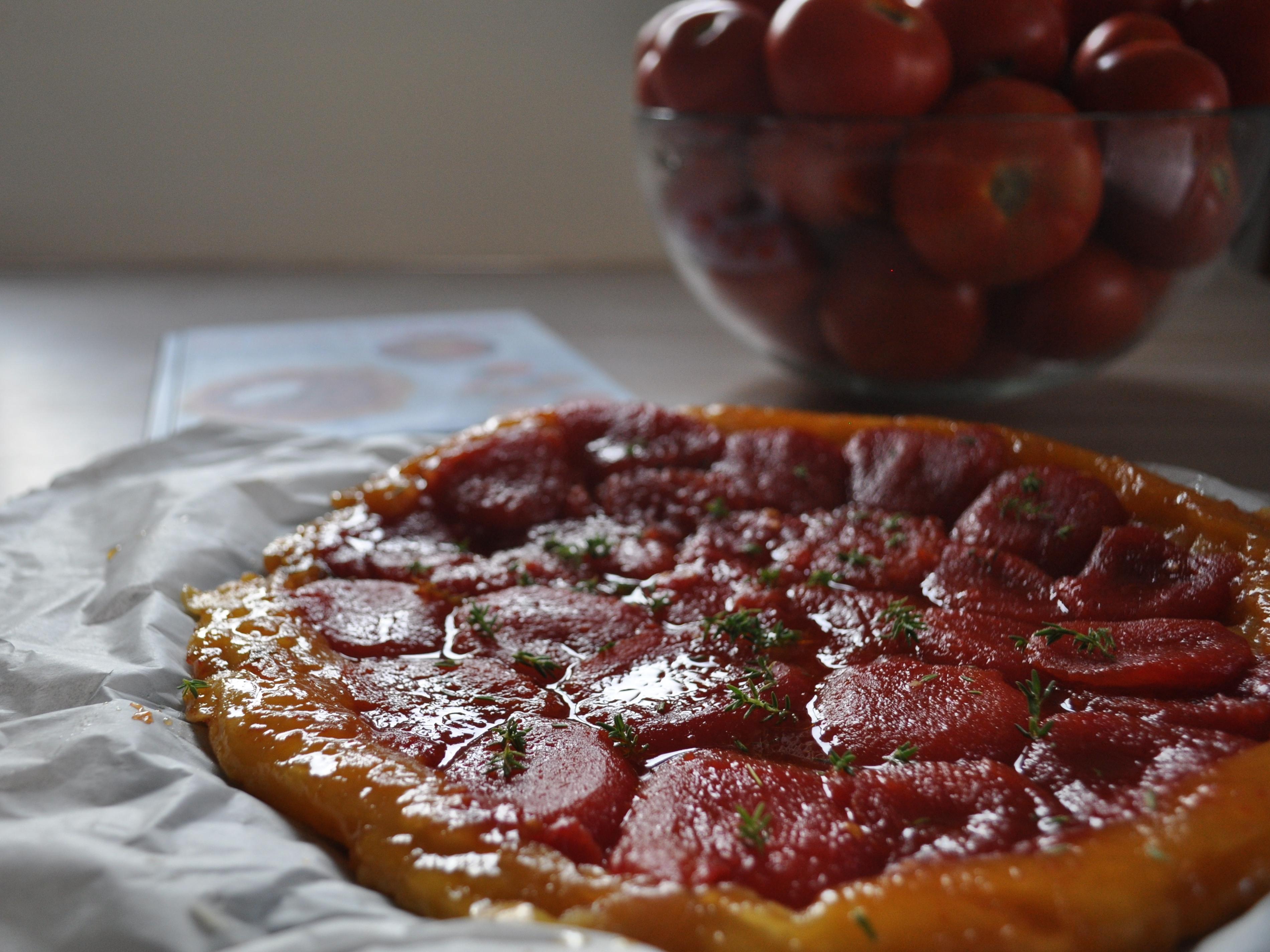 Tarte tatin di pomodori