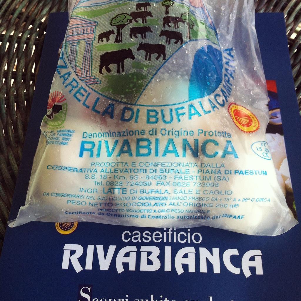 Mozzarella di Bufala Rivabianca