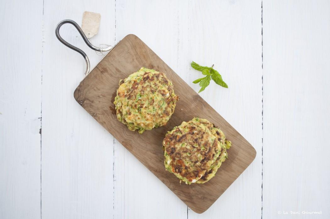 Frittelle zucchine e menta - Donna Hay