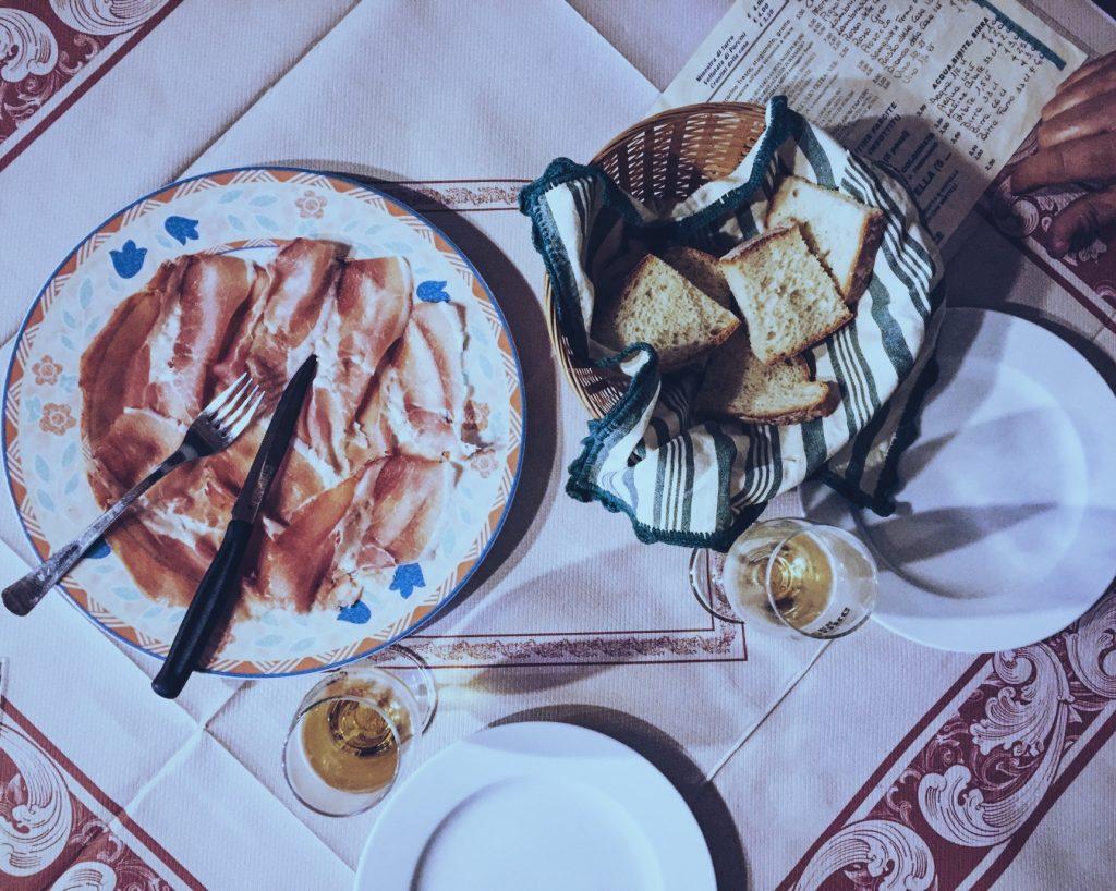 Prosciutto Bazzone, Taverna del Pellegrino