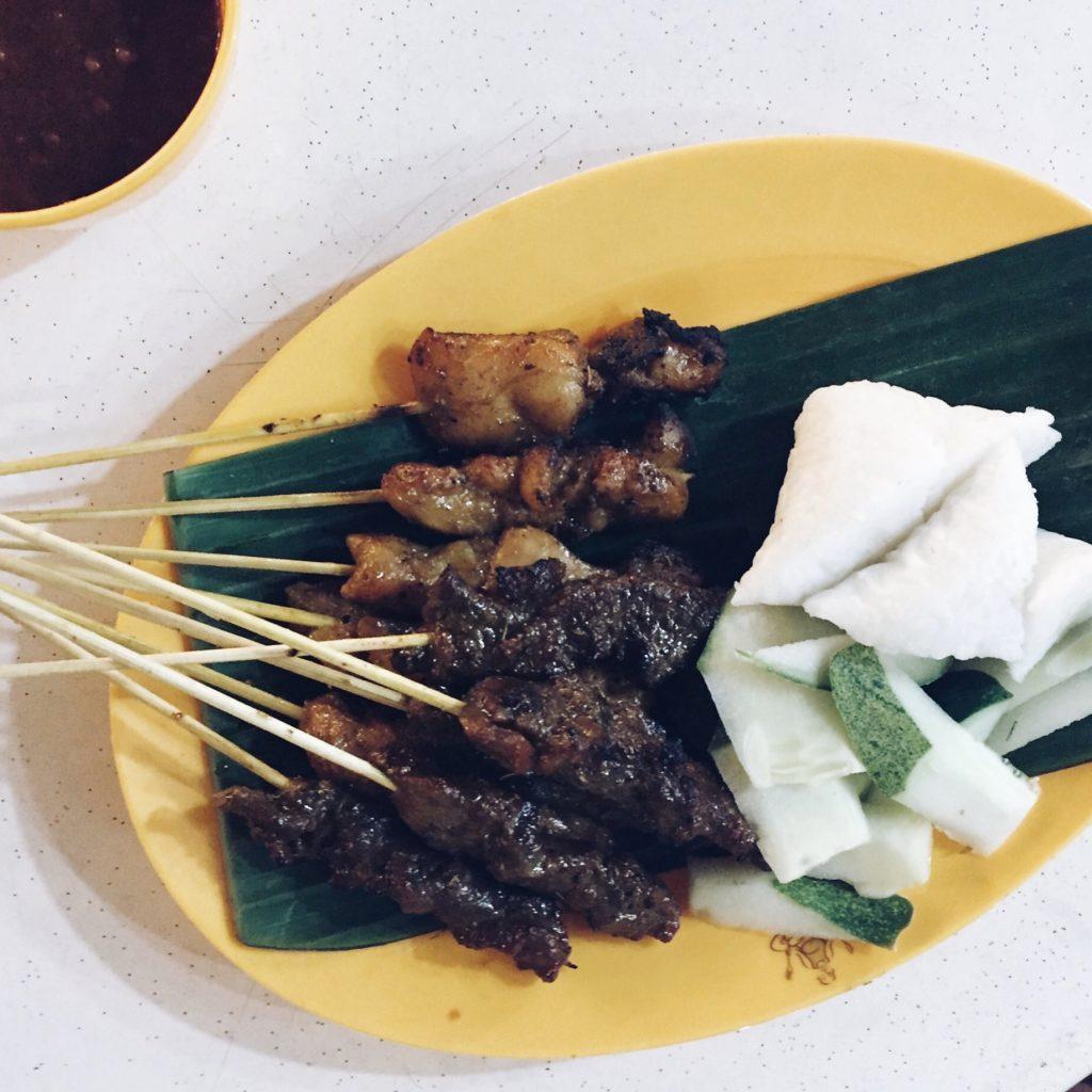 Satay at Makansutra